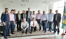 Permissionários da Ceasa recebidos pelo Governador Beto Richa