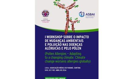 Curitiba reúne especialistas internacionais em alergia