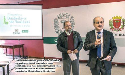 Curitiba anuncia o desempenho como base da licitação para coleta de resíduos