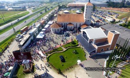 Santuário da Divina Misericórdia completa 22 anos