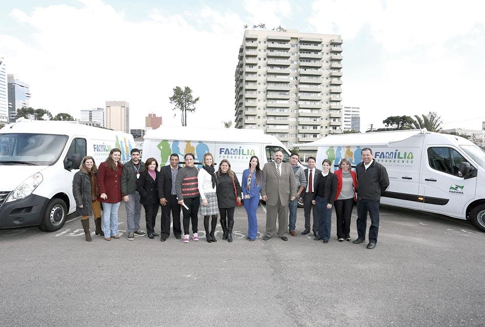 Municípios ganham veículos para assistência social