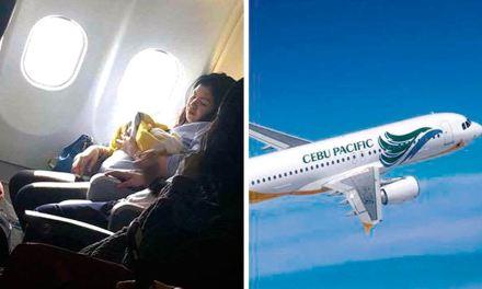 Mulher dá à luz em voo de 9 horas de duração e bebê ganha passagens de avião para o resto da vida