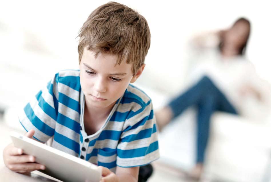 Menores de 5 anos e seus dispositivos móveis