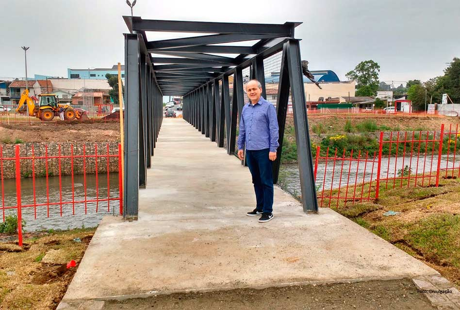 Nova passarela vai ligar os parques Mairi e Cambuí, na região sul da cidade