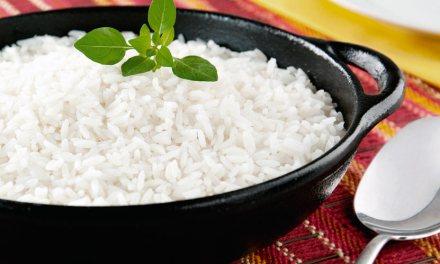 Oito dicas importantes  para o arroz
