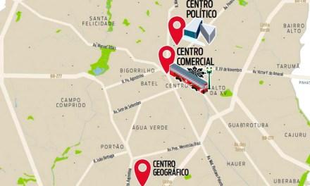 Capão Raso é o bairro mais central de Curitiba?