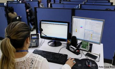 Clássico no telefone, Central 156 tem serviços extras no atendimento on-line