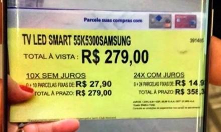 Caso da TV de R$ 279,00 repercute no exterior