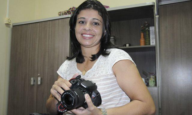 fotógrafa voluntária do projeto, Marilinda Pires Favaro