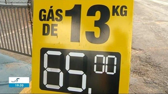 Queda no preço do gás de cozinha é registrada e produto pode ser encontrado a R$ 65 em Gurupi