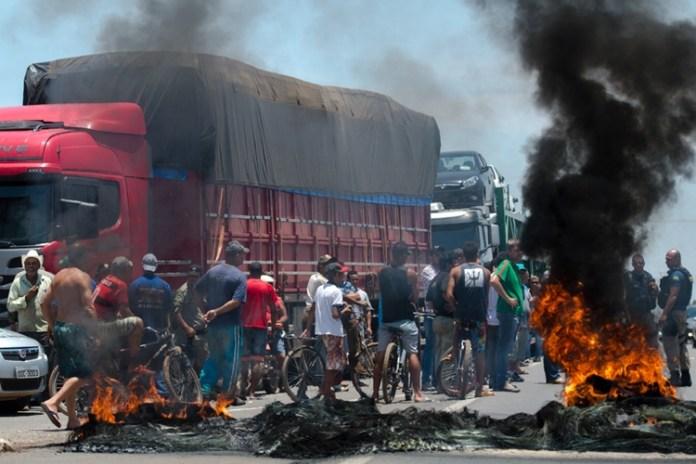 Greve de caminhoneiros parou o Brasil. Foto: Agência Brasil