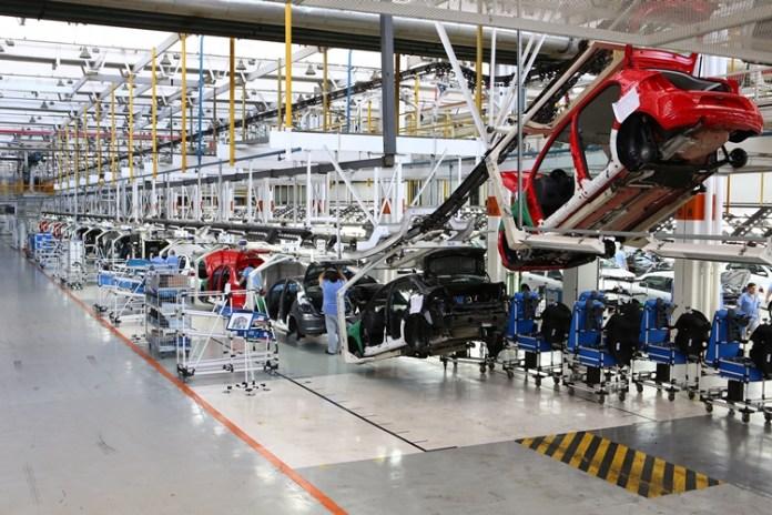 Produção de veículos tem queda de 84,4%. Foto: Volkswagen do Brasil