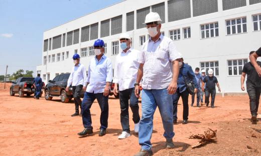 Governador do Tocantins, Mauro Carlesse, reafirma compromisso de entregarHospital Geral de Gurupi ainda este ano