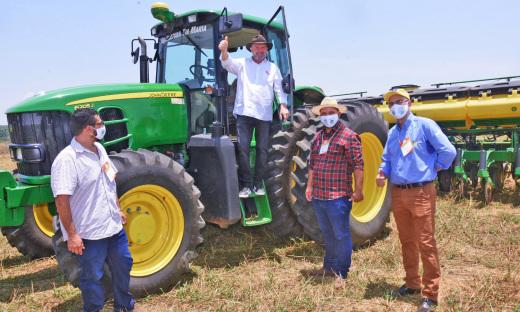 Durante a abertura oficial da Safra 2020/2021, o governador Mauro Carlesseafirmou que a expectativa é de crescimento na produção