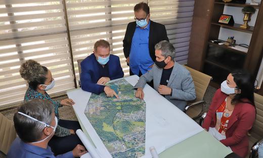 O governador Carlesse voltou a colocar o Executivo Estadual à disposição para contribuir no que for necessário