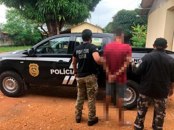 Polícia Civil prende ajudante de pedreiro por tráfico de drogas em Normandia