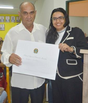 Renato Arruda recebe de juíza Elaile