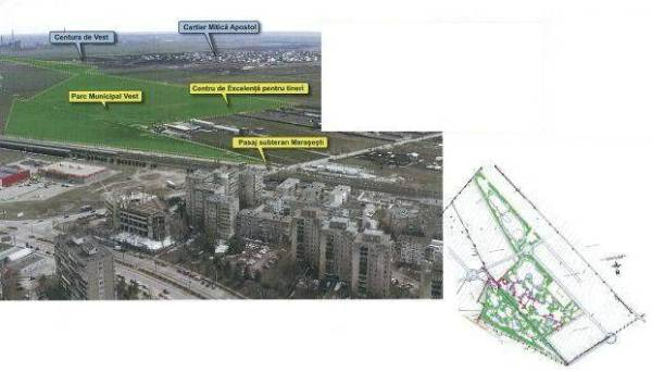 PLOIEŞTI/Parcul Municipal Vest – încă la faza de evaluare