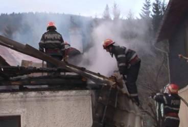 Incendiu în Drajna
