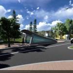 PLOIEŞTI/Pasaj suprateran, peste calea ferată, la ieşirea din strada Mărăşeşti către centură. Proiectul va fi discutat în şedinţa de luni a Consiliului Local