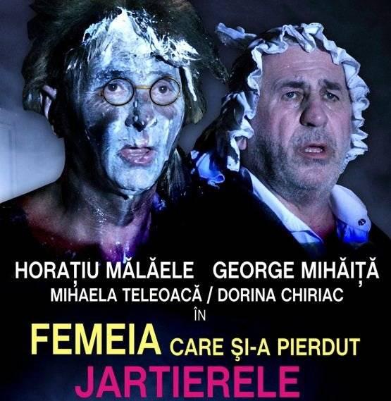 Horaţiu Mălăele şi George Mihăiţă, mega-spectacol pe scena ploieşteană