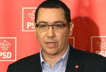 Victor Ponta, demisie în alb din PSD