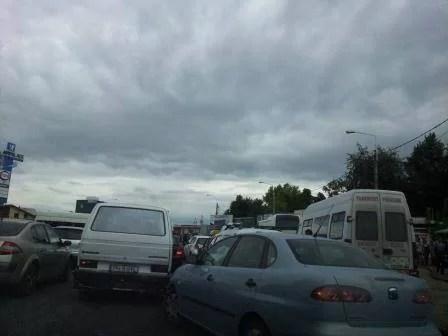 Atenţie, domnule primar! Mari blocaje de trafic într-o zonă din Ploieşti