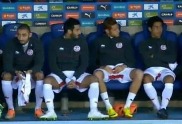 Hamza Younes, în echipa naţională a Tunisiei, la meciul contra Columbiei, de la Barcelona