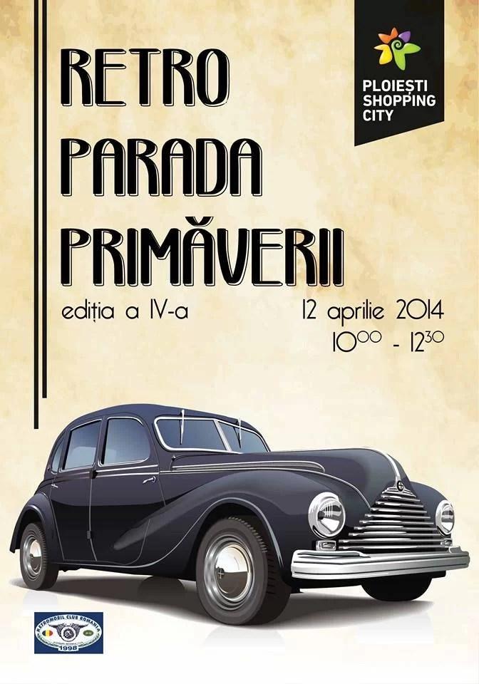 Expoziţie de maşini de epocă la Ploieşti Shopping City