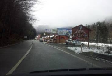 Zăpada mieilor la munte