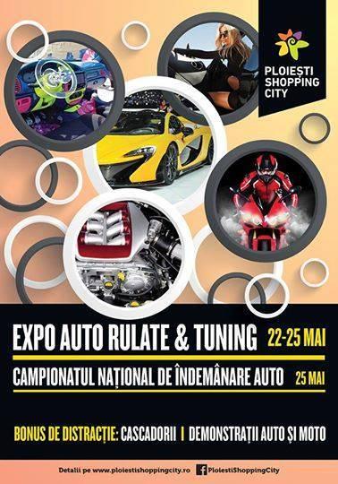 Expoziţie de maşini şi demonstraţii auto, în weekend, la Ploieşti Shopping City