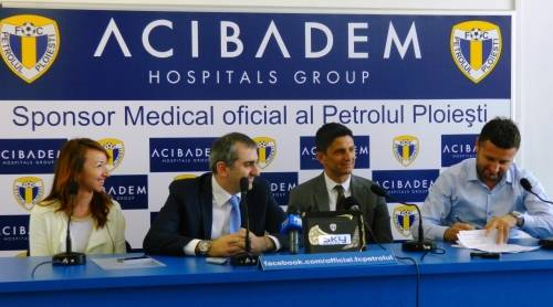 SC FC Petrolul și-a rezolvat problemele medicale viitoare ale jucătorilor, prin sponsorizarea primită de la grupul Acibadem. Urmează asigurările, de la o firmă engleză