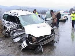Accident cu cinci răniţi pe DN1, la Buşteni