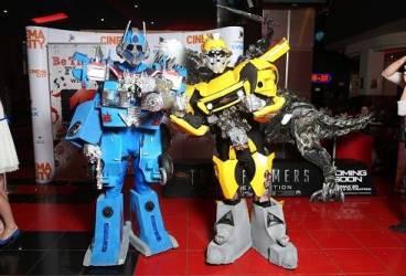 Roboţii Transformers vin la AFI Ploieşti