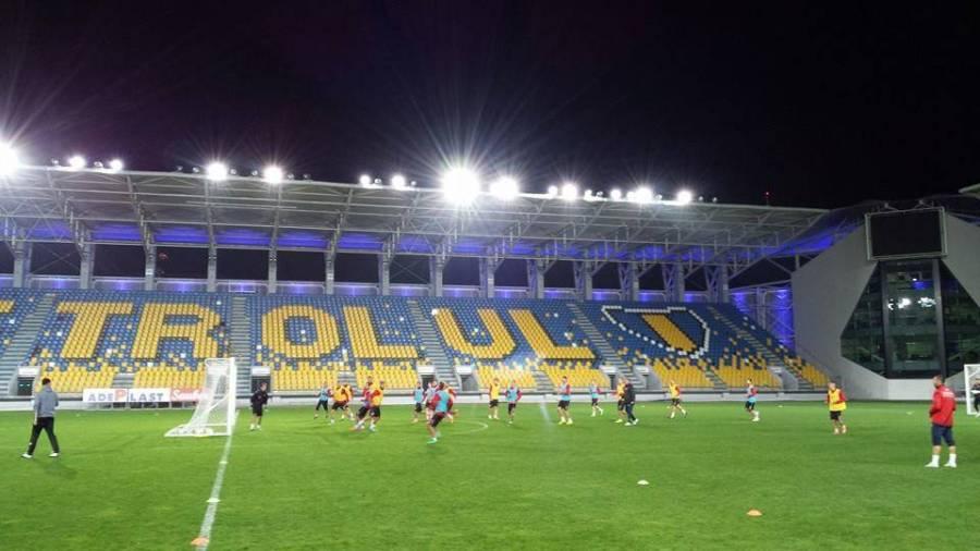 """Fortuna vrea să facă o mare surpriză, pe arena pe care, până acum, Dinamo a cîștigat, a pierdut și a remizat cu """"lupii""""!"""