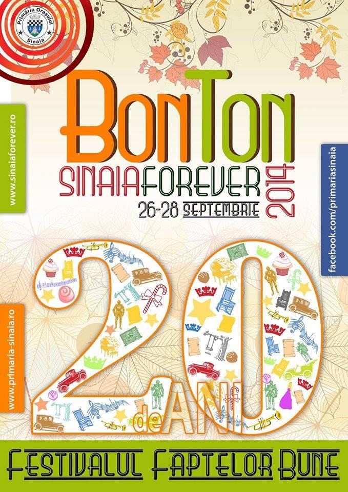 Sinaia Forever, 2014 – Programul complet al festivalului
