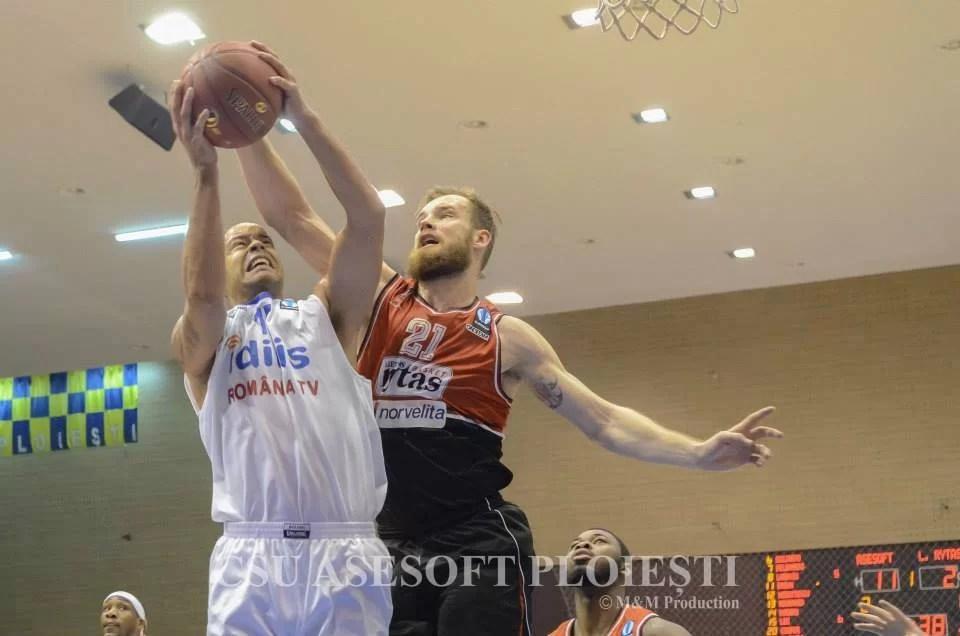 NBA ca la… Ploiești! CSU Asesoft a zdrobit-o pe favorita grupei E din  EuroCup, Lietuvos Rytas!