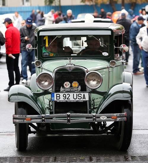 Parada maşinilor de epocă, la Ploieşti