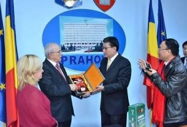 Mircea Cosma a avut oaspeţi din China la Consiliul Judeţean