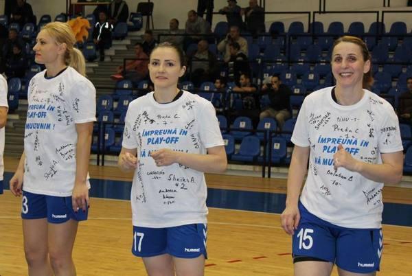 Marinela Ana-Gherman și coechipierele sale invită suporterii la sală, în play-off!