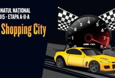 Etapă a Campionatului naţional de îndemânare auto la Ploieşti Shopping City