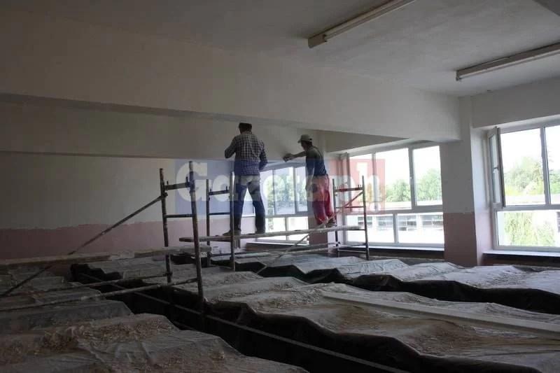 Lucrări la şcolile şi grădiniţele din Ploieşti
