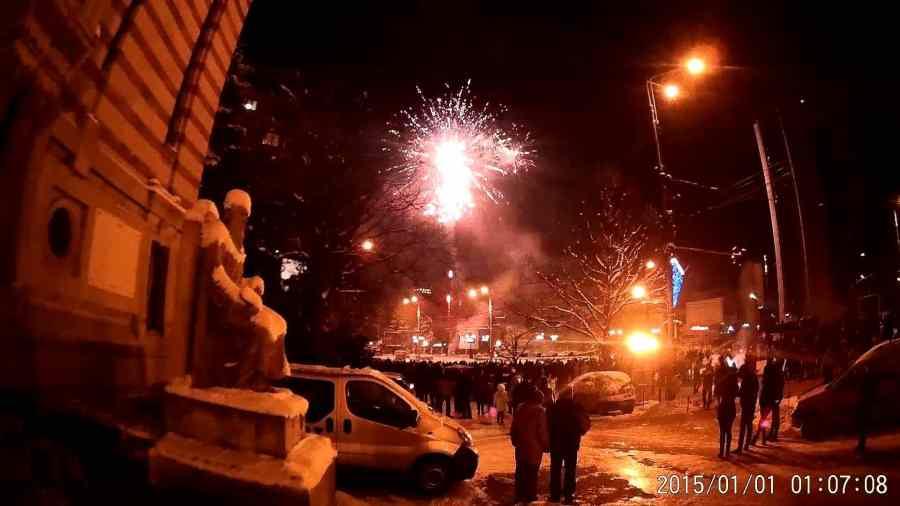 Revelion cu Vama Veche şi artificii la Ploieşti