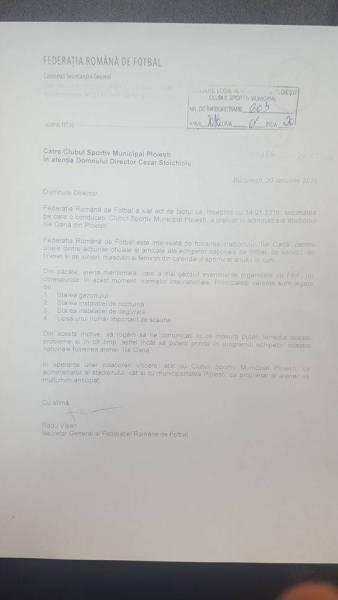 FRF ar putea urni lucrările de la arena Ilie Oană. Directorul CSM promite că se va bate pentru alocarea banilor