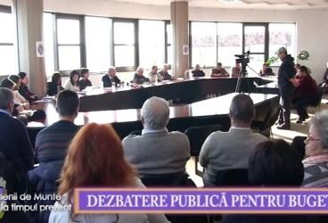 Valenii de Munte la timpul prezent 29 ian 2016 Dezbatere publica pentru buget p 1