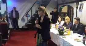 Monica Macovei a venit în Prahova să susţină candidaţii M10 de la Albeşti-Paleologu şi Floreşti