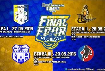 """Week-end-ul următor – cu mult baschet la """"Olimpia"""". Final 4 de promovare, în direct la TV!"""