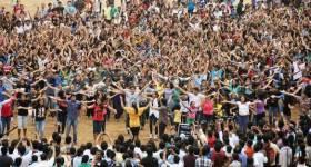 Flash mob în centrul Ploieştiului