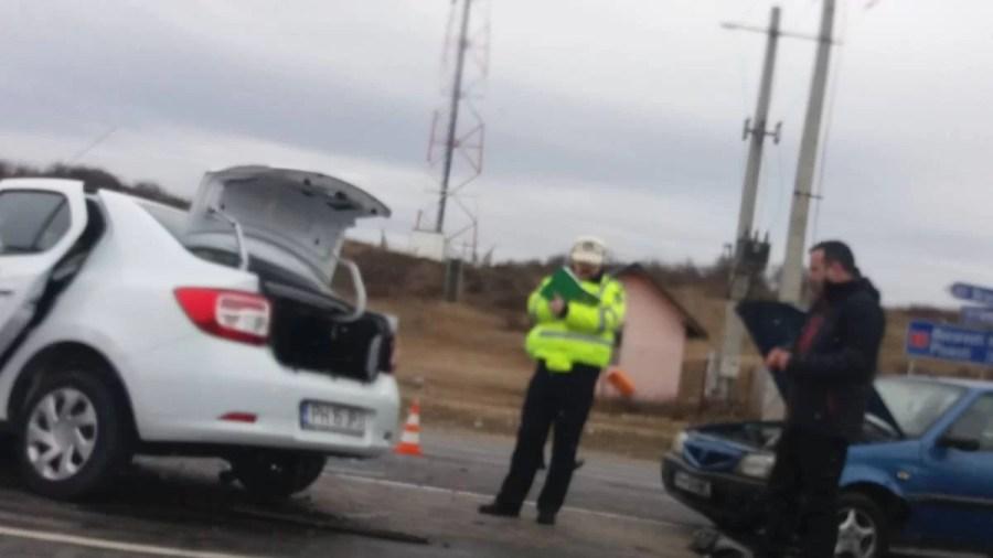 Trafic reluat pe DN1, după producerea unui accident la Azuga