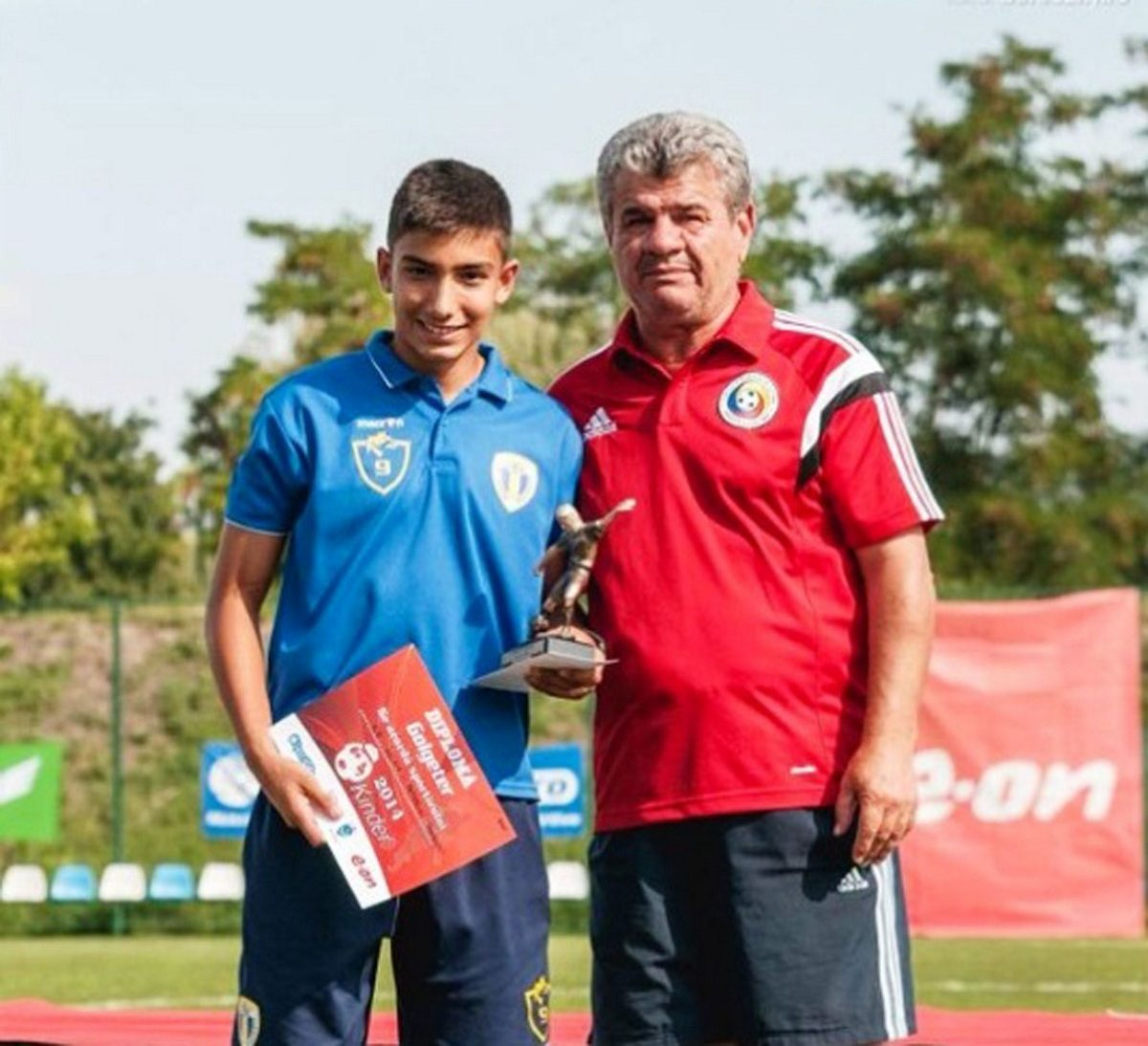 Iulian Ilie, golgheter la turneul Kinder 2014, fcpetrolul.ro